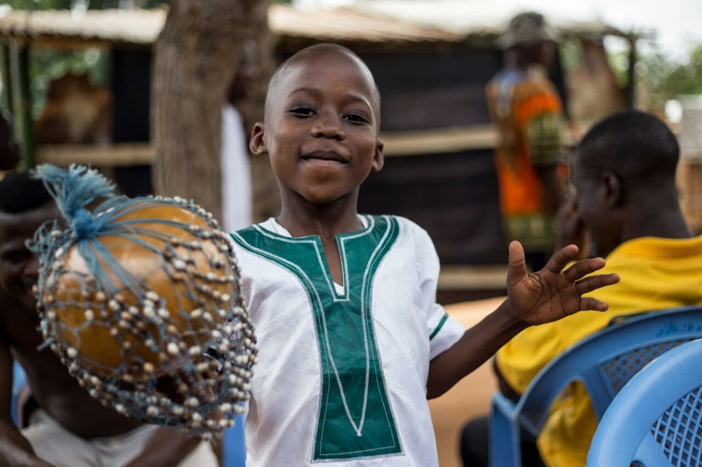 Dance and music is an integral part of the Ghana culture. Photography by @royal_pixels